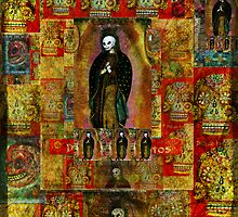Virgin of Guadalupe - Day of the Dead ART by dayofthedeadart