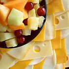 Fruit and Cheese Tray by Jay Gross