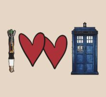 I love Doctor Who by firestonegal