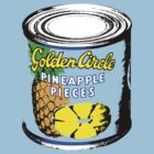 Golden Circle Pineapple Pieces by Bradley John Holland
