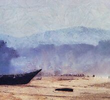 Boat on the Goan Coast. India by JennyRainbow