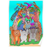 The Fauna Castle Poster