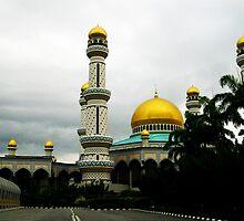 Jame'asr Hassanil Bolkiah Mosque, Brunei by AlisonOneL