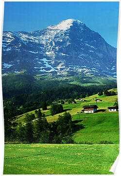 Swiss Alps 02 by AlisonOneL