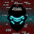 Isaac Clarke Badass Helmet 2 - (iPhone) by Adam Angold