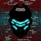 Isaac Clarke Badass Helmet 2 - (iPad) by Adam Angold