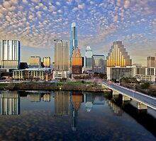 Austin Skyline in the Late Afternoon 2 by RobGreebonPhoto
