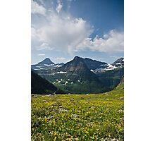 Garden Wall - Glacier National Park, Montana Photographic Print