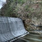 Sandy Hook Mill Dam by Clarkartusa