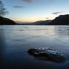 Ullswater Sunrise - English Lake District by David Lewins