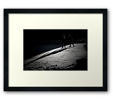 Christmas Day in Montreal Framed Print