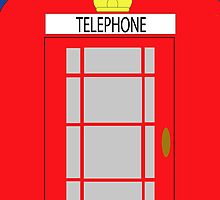 Phone box by Annette Brown