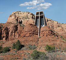 Chapel of the Holy Cross, Sedona, Arizona by Gordon  Beck
