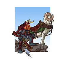 Dwarven Mounted Patrol Photographic Print