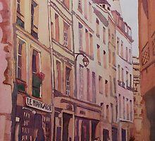 Rue Galande by JennyArmitage