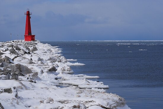 Muskegon on Ice by BiggerPicture