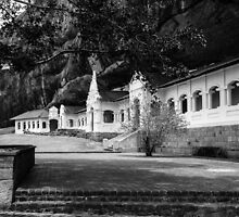 The Royal Rock Temple complex location Dambulla by Inez Wijker