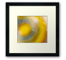 Oil in water abstract # 4 Framed Print