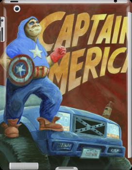 Captain Merica by Brian DeYoung