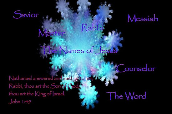The Names of Jesus by aprilann