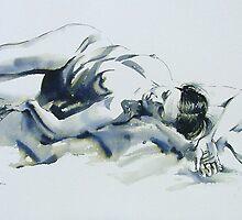 A Resting Figure by Pauline Adair