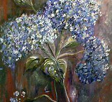 Hydrangeas by EloiseArt