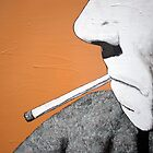 Smoking man by StudioTricktop