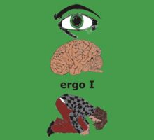 "I Think Ergo I Am - ""Rene Descartes"" by Brandon Walker"