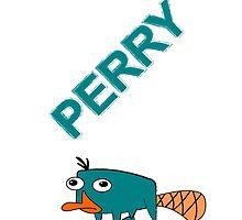 Perry the Platypus iPhone Case by bis4britanie