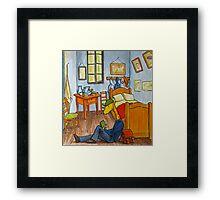Art Giraffe- Bedroom at Arles Framed Print