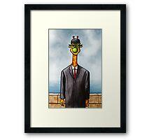 Art Giraffe- The Son of Man Framed Print
