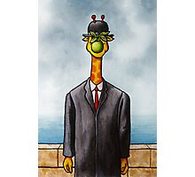 Art Giraffe- The Son of Man Photographic Print