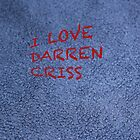 I love Darren Criss by aussiecandice