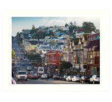 The Castro Art Print