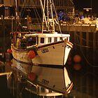 The white boat by Porridgewog32