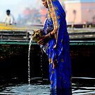 The Holy Ganges 1 by Michael Pross