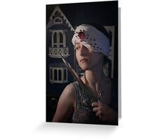 Protection of Innocence Greeting Card