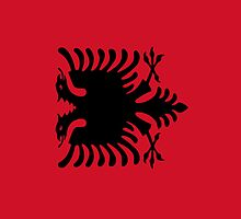 Albania Flag by pjwuebker