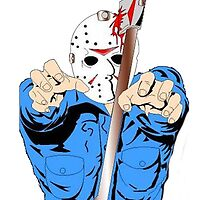 Jason- Friday the 13th by American Artist