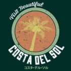 Final Fantasy VII - Costa Del Sol Tee by FFVII-TheSeries