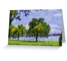 Summer Serenity Greeting Card
