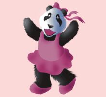 Panda Bear Ballerina  by jkartlife