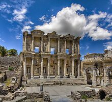 The Library at Ephesus, Turkey by RobGreebonPhoto