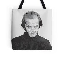 Jack Nicholson (Jack Torrance) The Shining  Tote Bag