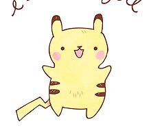 Pikachu Card by Steph Hodges
