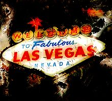 Welcome to Las Vegas Night by Anthony Ross