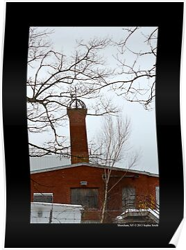 Nikola Tesla's Wardenclyffe Laboratory Building Tower - Shoreham, New York by © Sophie W. Smith