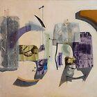 Cubo-Metaphysical Sacra Conversazione by Jósean Figueroa