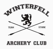 Winterfell Archery by sophiestormborn