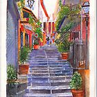 Bellagio Steps by Dai Wynn
